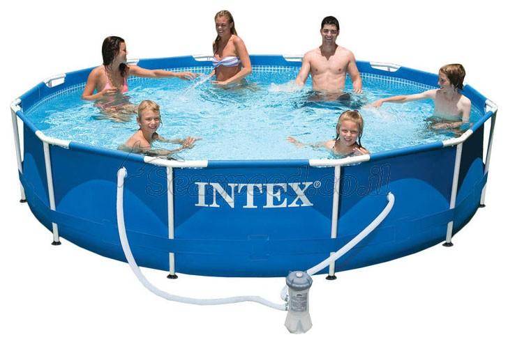 בריכת שחיה Frame pool 366X76