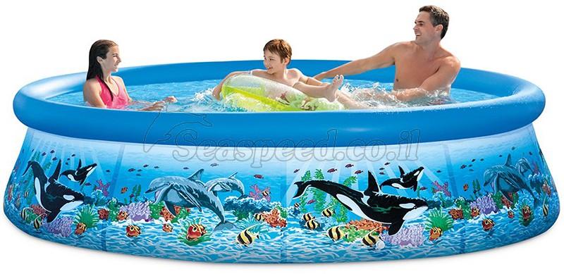 בריכת שחיה Easy Set 305X76 ריף באוקיאנוס