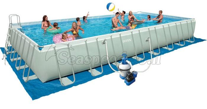 בריכת שחיה Ultra Frame pool 975X488X132