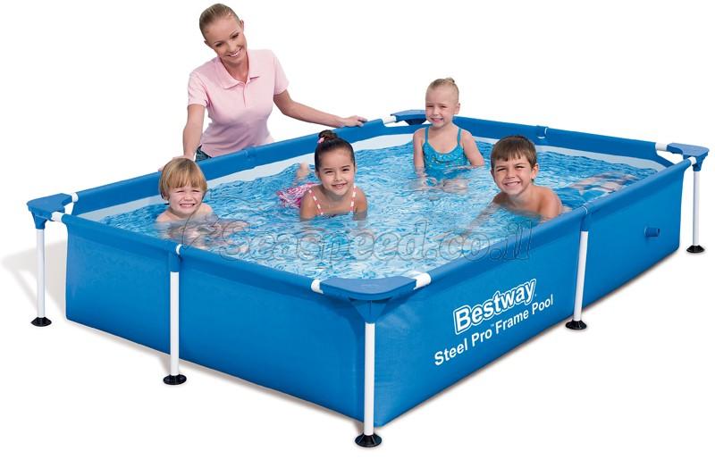 בריכת שחייה Bestway Splash Frame Pool 221X150X43 ללא משאבה