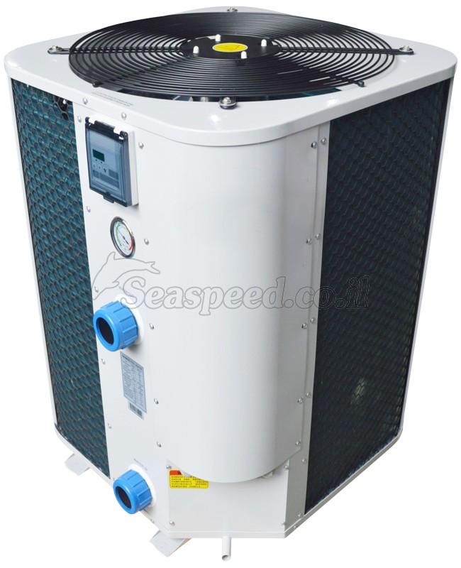 """משאבת חום Heat Pump לבריכות שחייה בהספק 25 קוו""""ט"""