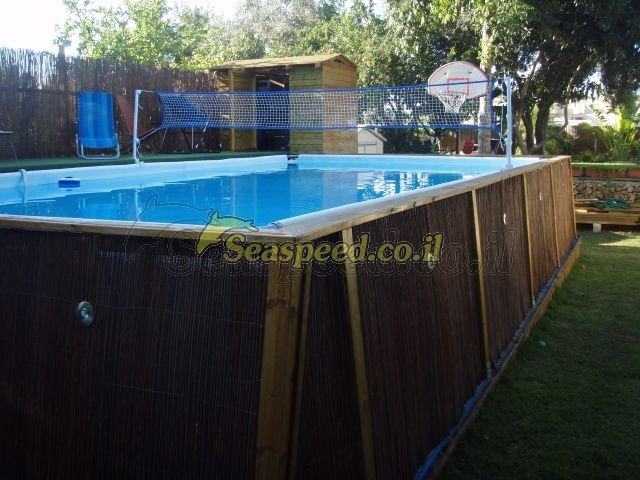 ultra frame pool 975x488x132 intex. Black Bedroom Furniture Sets. Home Design Ideas