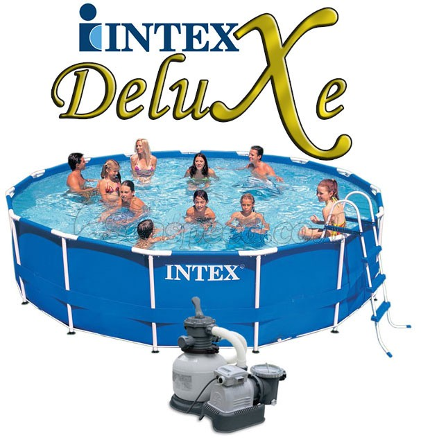 בריכת שחיה Intex Frame Pool 457X107 עם מסנן חול