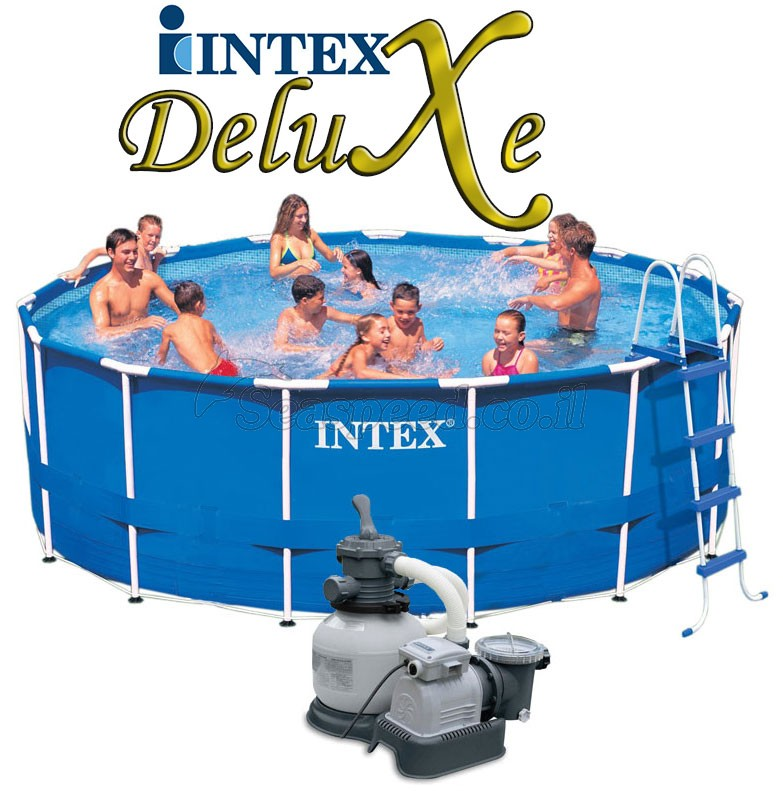 intex frame pool 457x122 intex. Black Bedroom Furniture Sets. Home Design Ideas