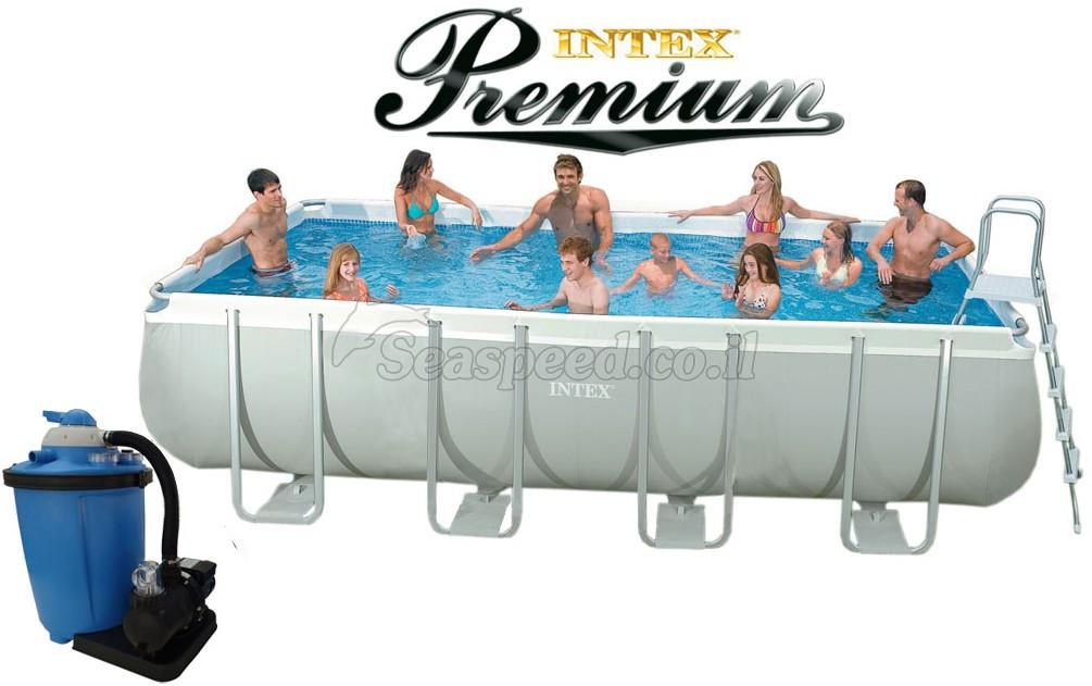 intex ultra frame 549x274x132 premium ultra. Black Bedroom Furniture Sets. Home Design Ideas