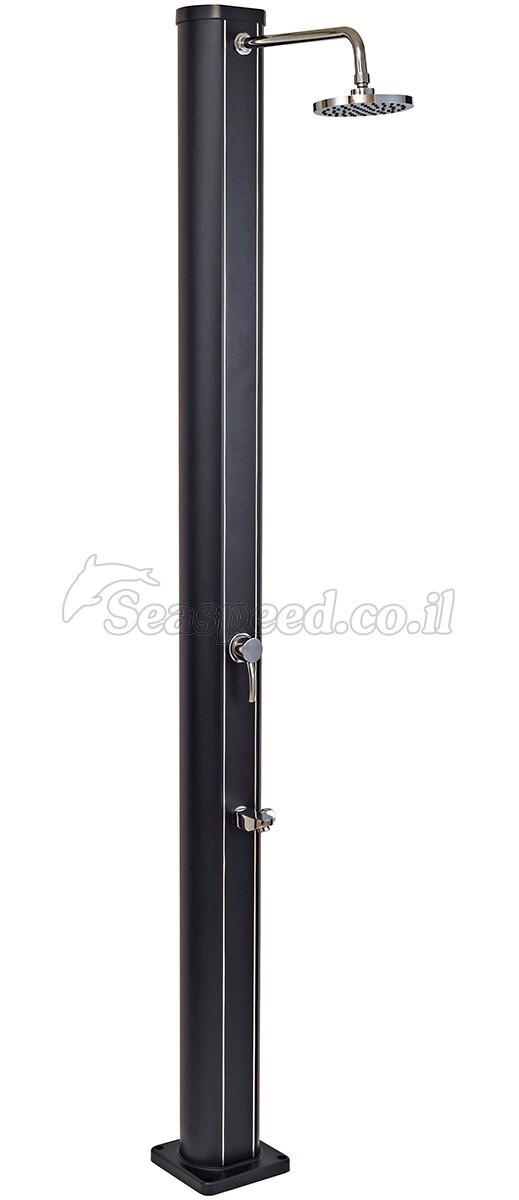 מקלחון סולארי יוקרתי קלאסי 32  ליטר כולל ברז לשטיפת רגלים דגם SS0955