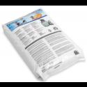 מצע סינון מהפכני תוצרת INTEX למסנני חול גרגרי זכוכית מיוחדים.