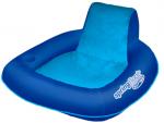 כיסא מרושת עם מסגרת ומשענת גב גבוהה מתנפחתת לבריכה ולים SunSeat