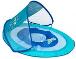 גלגל צף מתנפח לילדים כולל ציליה לבריכה Baby Spring Float Sun Canopy