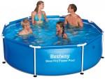 בריכת שחייה Bestway Steel Pro Frame Pools 244X61 ללא משאבה