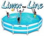 בריכת שחייה עגולה מדגם Limor Pool Line 460X100