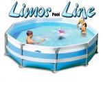 בריכת שחייה עגולה מדגם Limor Pool Line 360X100