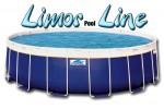 בריכת שחייה עגולה מדגם Limor Pool Line 550X132
