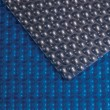 כיסוי צף Silver Blue Geobbuble  700 מיקרון סולארי כהה עם בועות אוויר בצורת שמיניות