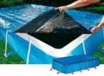 כיסוי עליון מאסיבי לבריכה מלבנית במידות אורך  3.0 מטר וברוחב 2.20  תוצרת איטליה  AS0783