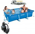 בריכת שחיה Intex Frame Pool 260X160X65 Premium  עם מסנן חול