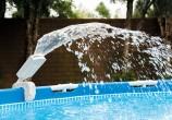 מזרקת לד צבעונית תוצרת Intex המופעלת על ידי לחץ המים בלבד  דגם 28089