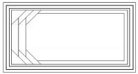 בריכת פיברגלאס דגם ליאן עם תעלות גלישה