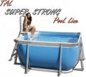 Tal Super Strong 306X306X125 בריכה מרובעת