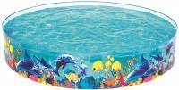 בריכה עגולה עם דופן קשיחה שונית אלמוגים תוצרת Bestway דגם 55031