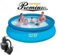 בריכת שחיה Intex Easy Set 366X76 Premium  עם מסנן חול
