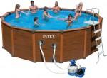 בריכת שחיה משומשת(יד שניה) Sequoia Frame pool 508X124