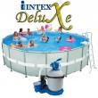 """בריכת שחיה Intex Ultra Frame 549X132 עם מסנן חול 1.0 כ""""ס"""