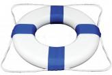 """גלגל הצלה Deluxe  לבריכה בקוטר 46 ס""""מ עם חבל הצלה מק""""ט 5555"""