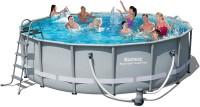בריכת שחייה Bestway Power Steel Frame Pools 488X122 כולל משאבה