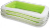 בריכה משפחתית דופן ירוקה מתנפחת Swim Center  תוצרת אינטקס דגם  56483
