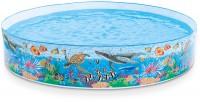 בריכה עגולה עם דופן קשיחה Coral Reef  תוצרת Intex  דגם 58472