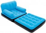 כורסת ישיבה צבעונית ההופכת למיטה תוצרת Bestway דגם 67277