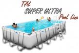 Tal Super Ultra 840X420X132 בריכה מלבנית