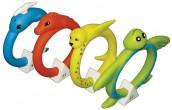 """משחק לבריכה חישוקי חיפוש צלילה רכים בצורת חיות מק""""ט 72712"""
