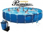 בריכת שחיה Intex Frame Pool 732X122 Premium  עם מסנן חול
