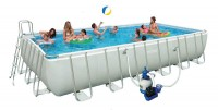 בריכת שחיה Ultra Frame pool 732X366X132
