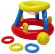 """משחק כדור סל מתנפח צף הכולל מתקן טבעות וחישוקי זריקה  מק""""ט 86189"""