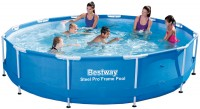 בריכת שחייה Bestway Steel Pro Frame Pools 366X76 ללא משאבה