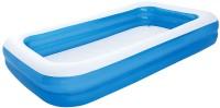 """בריכת שחייה מלבנית מתנפחת גדולה במידות  305X183X46 ס""""מ  דגם 54150"""