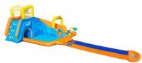 מתקן מים מתנפח ענק ג'ימבורי עם מגלשה Bestway H2OGo 53351
