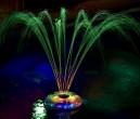 מנורה צפה לבריכה Light Show & Fountain
