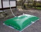 מיכל איחסון גמיש לאגירת מים ומי גשמים  Eko Tank 600X440 20,000LT