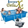 בריכת שחיה Intex Frame Pool 300X200X75 עם מסנן חול