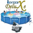 בריכת שחיה Intex Frame Pool 457X91 עם מסנן חול