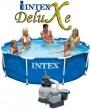 בריכת שחיה Intex Frame Pool 305X76 עם מסנן חול