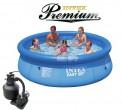 בריכת שחיה Intex Easy Set 305X76 Premium  עם מסנן חול