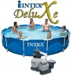 בריכת שחיה Intex Frame Pool 366X76 עם מסנן חול