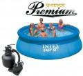 בריכת שחיה Intex Easy Set 366X91 Premium  עם מסנן חול