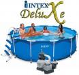 בריכת שחיה Intex Frame Pool 366X99 עם מסנן חול