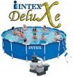 בריכת שחיה Intex Frame Pool 457X107 עם מסנן חול